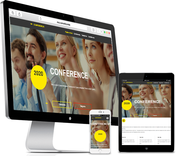 Responsive Website - Website Builder