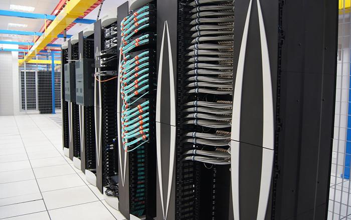 Photos of the São Paulo Data Center